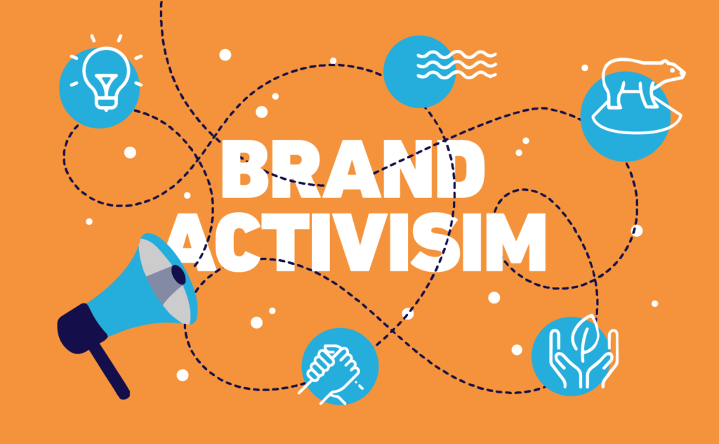 Brand activism example in 2020